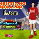 Christiano Ronaldo öltöztetős játék