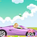 Autós Barbie játék