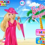 Barbie várandós öltöztetős játék