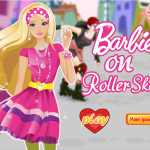 Görkoris Barbie öltöztetős játék
