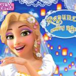 Aranyhaj menyasszonyi sminkje Disney játék