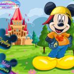 Mickey Mouse öltöztetős Disney játék