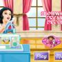 Hófehérke tervezett ruhája hercegnős játék