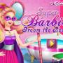 Szuperhős lakást takarít Barbie játék