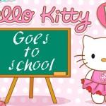 Iskolába készülődés Hello Kitty játék