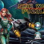 Star wars kép kirakós Disney játék